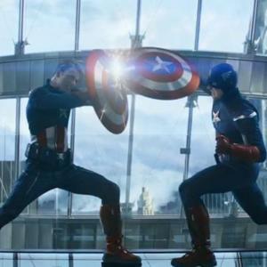 The fall from Cap vs Cap : キャプテン・アメリカ、ダブル転落‼️😄