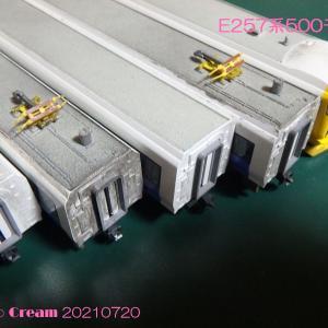E257系500レストアその1