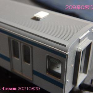 209系0宮ウラ新津製造編成その1