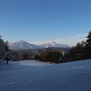 北信の雪山