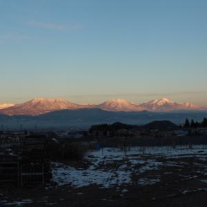 北信の雪山2