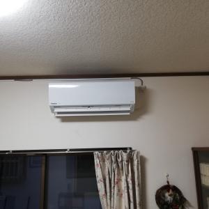 三島市/エアコンの取付