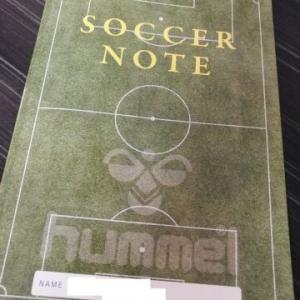 【少年サッカー】小学校低学年からサッカーノートをおすすめする理由