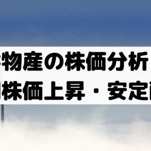 三井物産の株価分析!短期の株価が上昇・安定配当方針【8031】