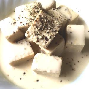 超クリーミー高野豆腐*レシピ*ダイエット・ワインのおつまみに