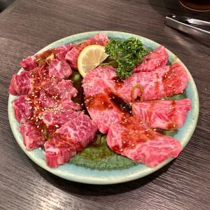 横浜 ホルモン・焼肉「ushiwakamaru 牛若丸」で、大とろてっちゃんやハラミを♪