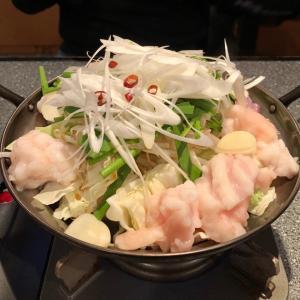 横浜・新子安 「きしや」で、4ヶ月ぶりにもつ鍋を♪