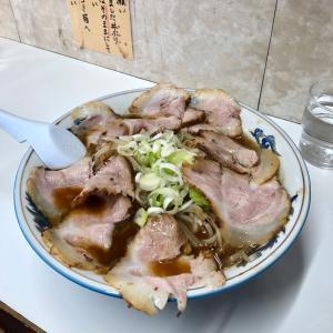 「旭川ラーメン ぺーぱん」の正油野菜チャーシューメン
