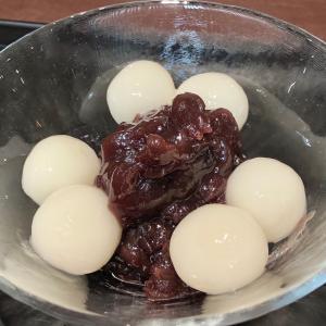 「虎屋菓寮」で、小倉餡の冷やし白玉あずきを♪
