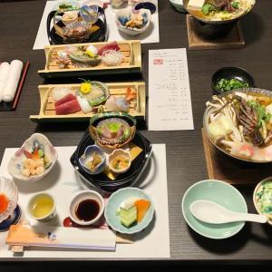 伊豆・堂ヶ島温泉「ホテル天遊」 夕食と朝食