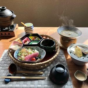 箱根「天翠茶寮」 朝食 ~土鍋炊きご飯の和定食~