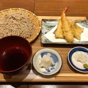 「そばと天ぷら 石楽」でランチ