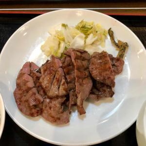 牛たん定食「杉作」で大満足のランチ