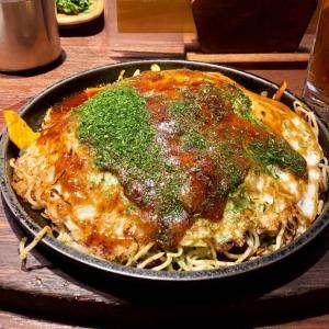 飯田橋 広島風お好み焼き 「もみじ屋」でランチ