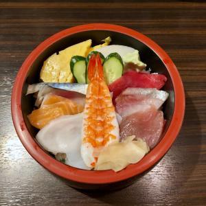 新横浜でランチ  「すし処 あおい」で、ちらし寿司を♪