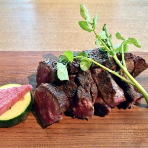 虎ノ門でランチ  「但馬屋」で、黒毛和牛の熟成肉のステーキを