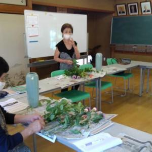 生け花教室の再開