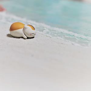 海と砂浜のジオラマ製作に挑戦した話