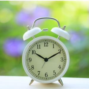 鳴り止まない目覚まし時計