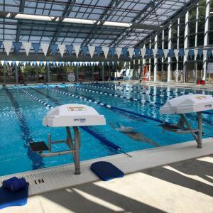 Swim training day 〜素敵なプールでトレーニング〜