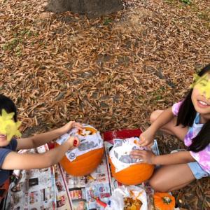 Pumpkin  carving!! 〜パンプキンカービングしました〜
