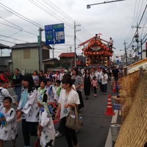 楡木大杉神社の夏祭り