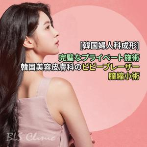 [韓国の婦人科成形(膣縮小術)] ビビーブレーザーで完璧なプライベート施術をする韓国美容皮膚科
