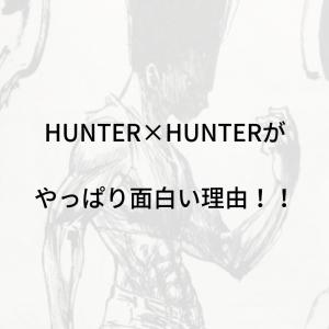 HUNTER×HUNTERがやっぱり面白い理由!!漫画もアニメも大好きです!アニメ配信サイト取り扱いも!