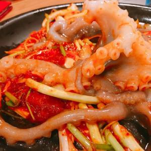 【韓国3日目】見て楽しい!食べて美味しい!生ダコのプルコギを食べに