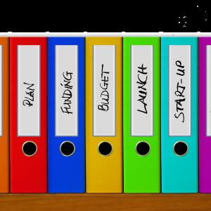 文房具はファイルボックスを使っておしゃれに整理!種類や選び方は超重要!