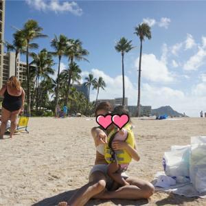 【ハワイ】ヒルトンハワイアンビレッジで初めての海ー1歳8ヶ月の子供と初の海外旅行ー