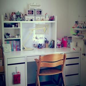 娘の勉強机☆