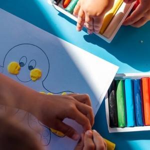 【3歳】幼児期の粘土遊びにおすすめ!「ねんDo!こむぎねんど」