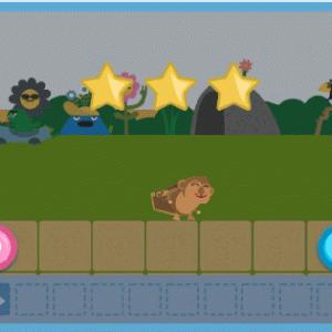 【無料アプリ】未就学児のプログラミング学習に!「コードモンキーJr.」