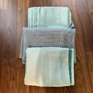 気にしていたカーテンのお洗濯+キープキレイ