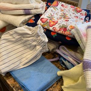 【キッチン収納】布巾の見直しできました+キープキレイ