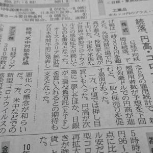 今朝の日経から2年6月19日 日経平均は続落です【株式・投信・マーケット】