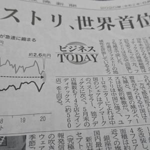 今朝の日経から2年6月19日 ユニクロが世界一!?【経済情勢】
