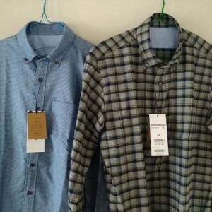 冬物のシャツを2枚購入した「DOCLASSEはお勧め」