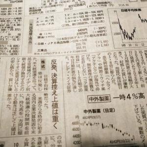 今朝の日経から2年10月24日 日経平均反発、というけれど 【株式・投信・マーケット】