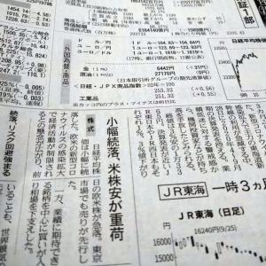 今朝の日経から2年10月28日 思いの外頑張った日経平均【株式・投信・マーケット】