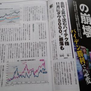 「日本株は過度な割高?」今週のビジネス週刊誌から2年11月3日号