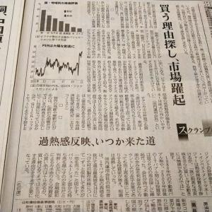 今朝の日経から3年1月23日 これでも割安?日本株【株式・投信・マーケット】
