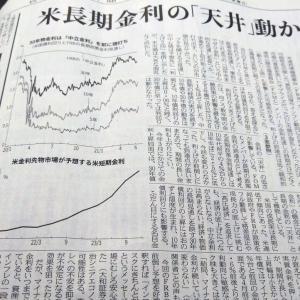 今朝の日経から3年6月18日 金利上昇とインフレ【経済情勢】