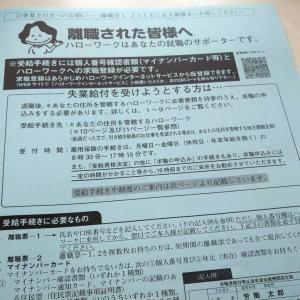 失業者日記4「離職票が送られてきた」