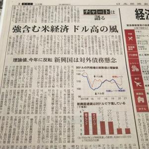 今朝の日経から3年8月1日 ドル高は定着するのか【株式・投信・マーケット】