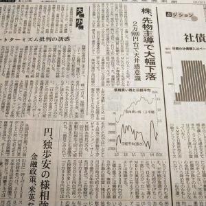 今朝の日経から3年10月22日 下落は先物からだった【株式・投信・マーケット】