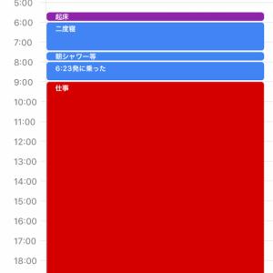 速攻で寝たGoogleカレンダー×Sleep Meister×Habitica記録(10/17)
