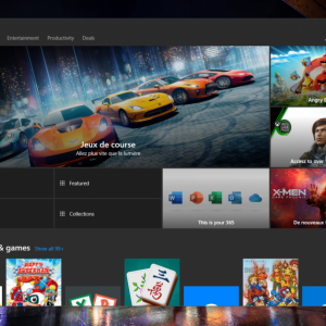 "Windows 10 Microsoft Store Has Fresh tabbed interface Which better highlights PC games and Bargains"" OnMSFT.com"