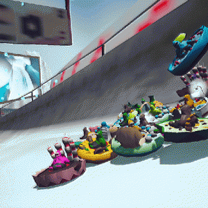 'Snowdown' is a Playful Racer About Losing Control